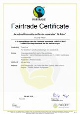2 - Fairtrade Certificate